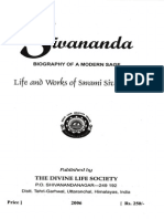 Sivananda Biography of a Modern Sage Devotees