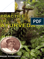 Practice of Ayurveda by Swami Sivananda