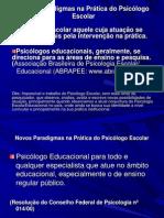 11111Novos Paradigmas na Prática do Psicólogo Escolar