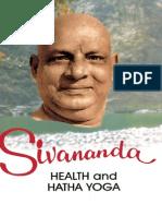 Health and Hatha Yoga by Swami Sivananda