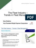 Trends in Fleet Management Federal Agencies
