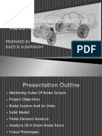 Brake System in Automotive Industry