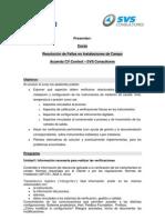 Resolucion Fallas Instalaciones Campo