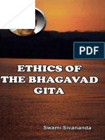 Ethics of the Bhagavad Gita by Swami Sivananda