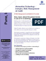 IT Strategy, Risk Management and Audit