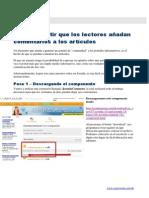 D-Web Avanzado con Jmla-mod3-Cómo instalar el componente para comentarios