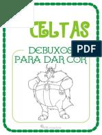 Os Celtas Para Nenos - Debuxos Para Dar Cor