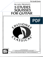 25 Etudes Esquisses