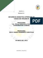 Secuencia Didactica Conducta