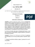Ley_1369_2009