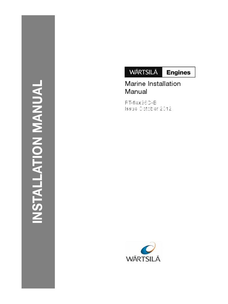 wartsila-o-e-rt-flex-mim-96c-b-part1.pdf   Internal Combustion Engine    Turbocharger