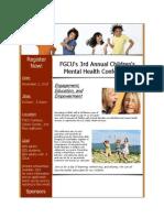 FGCU Mental Health Conference