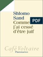 Sand Shlomo - Comment j'ai cess' d'ˆtre juif