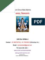 Shiv Mantra Pdf