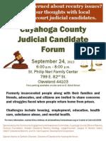 Cleveland Candidates Forum Judicial-1