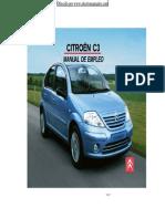 Manual Usuario Citroen C3-Modelos-2004-2007 Español