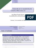 Introduccion Al Desarrollo de La Metadistribucion Canaima GNU Linux 2.0