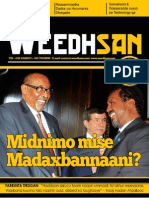 Weedhsan Magazine, Issue 12, July August 2013