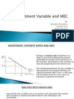 Investment Variable and MEC(1)