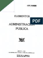 Elementos Administracion Publica