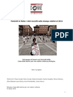 Femicidio in Italia 2012
