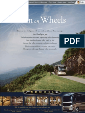 Motor Home Jan-2009 | Recreational Vehicle | Business