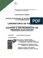 1°INFORME DE LABORATORIO DE FISICA III