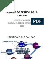 Cronograma Plan de Accion 2013