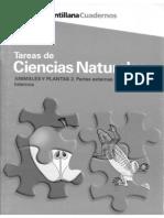 ANIMALES Y PLANTAS 2. PARTES EXTERNAS Y ÓRGANOS INTERNOS.pdf