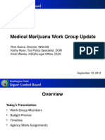 Medical Cannabis Work Group Update