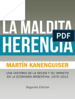 La Herencia Maldita - Martín Kanenguiser
