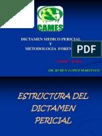 Dictamen Pericial y Metodologia Forense