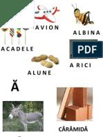 Invata literele alfabetului - Ateliere cu maniere