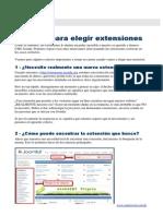 D-Web Avanzado Con Jmla-Mod5-6Criterios Para Seleccionar Extenciones