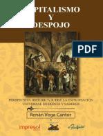 Vega, Renán Cantor – Capitalismo y despojo