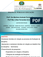 Seminario Politicas Publicas