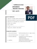 Curriculo Vitae Cesar Actualizado 2013