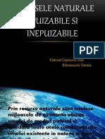 Resursele Naturale Epuizabile Si Inepuizabile