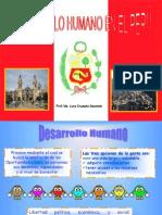 Desarrollo Humano y Local en El Peru