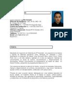 Hoja Vida Bryan Eduardo Fajardo Vasquez