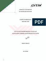 Aft Rulman Sistemindeki Bilyali Rulman Hasarlarinin Titreim Analizi Metodu Ile Tespiti Detection of Ball Bearing Defects by Vibration Analysis Method in Shaft Bearing System