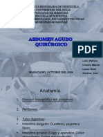 AA Inflamatorio - Apendicitis