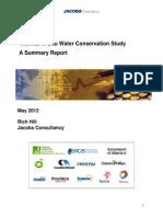 Thermal in Situ Water Summary Report
