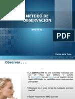 METODO DE OBSERVACIÓN
