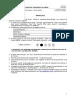 Prova_completa - São João da Barra