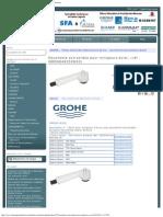 GROHE 46252 Douchette Eurowing Blanc Et Ancien Europlus Et Eurowing