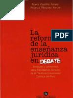 La Reforma de La Ense Anza - Jurdica - Mario Castillo Freyre