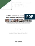 Arquitetura residencial das superquadras do Plano Piloto de Brasília