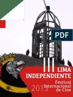 III LIMA INDEPENDIENTE - Catálogo 2013