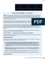 Mystery of God - Predestination or Free Will?
